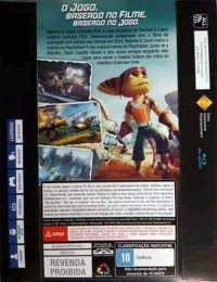 Ratchet & Clank (Revenda Proibida) Box Art