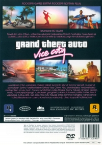 Grand Theft Auto: Vice City [FI] Box Art