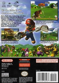 Mario Golf: Toadstool Tour Box Art
