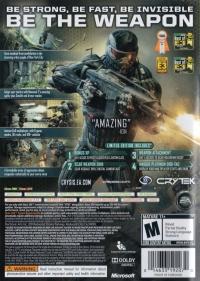 Crysis 2 - Limited Edition Box Art
