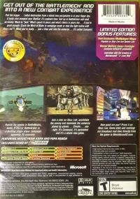 MechAssault 2: Lone Wolf - Limited Edition Box Art