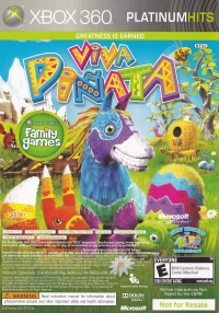 Banjo-Kazooie Nuts and Bolts/Viva Pinata - Platinum Hits Box Art