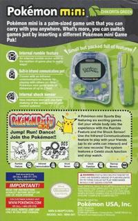 Pokémon Mini - Chikorita Green Box Art