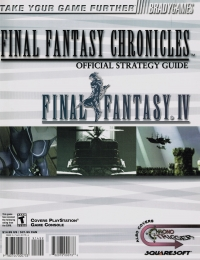 Final Fantasy Chronicles - Official Strategy Guide Box Art