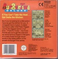 BurgerTime Deluxe Box Art