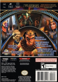 Sphinx and the Cursed Mummy Box Art
