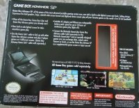 Nintendo Game Boy Advance SP - Onyx Box Art