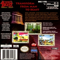 Altered Beast: Guardian of the Realms Box Art