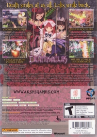 Deathsmiles Box Art