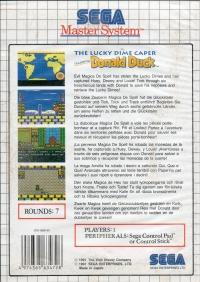 Lucky Dime Caper Starring Donald Duck, The Box Art