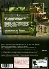 Army Men: Soldiers of Misfortune Box Art