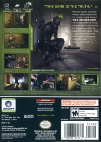 Tom Clancy's Splinter Cell: Chaos Theory Box Art