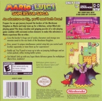 Mario & Luigi: Superstar Saga Box Art