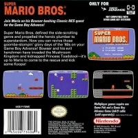 Super Mario Bros. - Classic NES Series Box Art