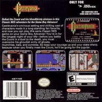 Castlevania - Classic NES Series Box Art