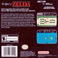 Legend of Zelda, The - Classic NES Series Box Art