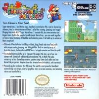 Super Mario Advance Box Art