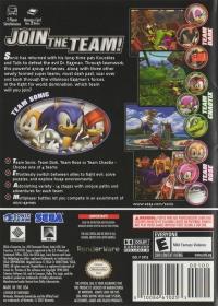Sonic Heroes - Player's Choice Box Art