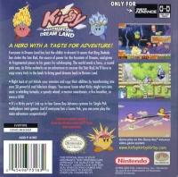 Kirby: Nightmare in Dream Land Box Art