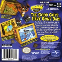 Crash Bandicoot 2: N-Tranced Box Art