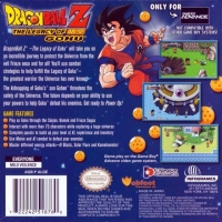 Dragon Ball Z: The Legacy of Goku Box Art