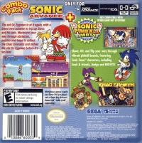 Combo Pack: Sonic Advance + Sonic Pinball Party Box Art