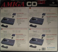 Commodore Amiga CD32 Box Art