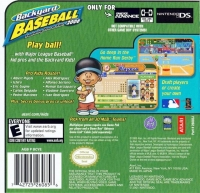 Backyard Baseball 2006 Box Art