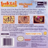 Boktai: The Sun Is in Your Hand Box Art