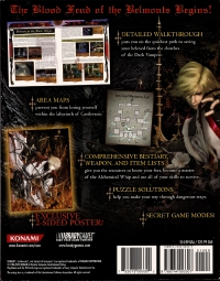 Castlevania: Curse of Darkness - Official Strategy Guide Box Art