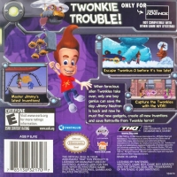 Adventures of Jimmy Neutron Boy Genius, The: Attack of the Twonkies Box Art