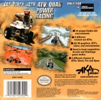 ATV: Quad Power Racing Box Art