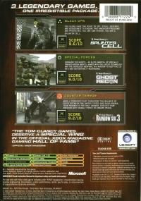 Tom Clancy's Classic Trilogy - Platinum Hits Box Art
