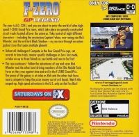 F-Zero: GP Legend Box Art