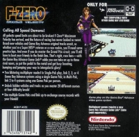 F-Zero: Maximum Velocity Box Art