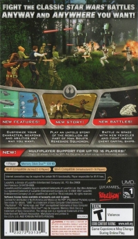 Star Wars: Battlefront: Renegade Squadron Box Art