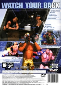 WWE SmackDown! Here Comes the Pain Box Art