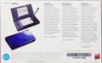 Nintendo DS Lite - Cobalt/Black Box Art