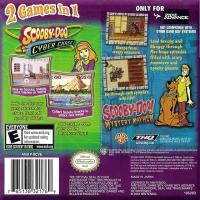 2 Games in 1 Double Pack: Scooby-Doo and the Cyber Chase / Scooby-Doo! Mystery Mayhem Box Art