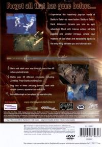 Baldur's Gate: Dark Alliance (Vivendi Universal Games) Box Art