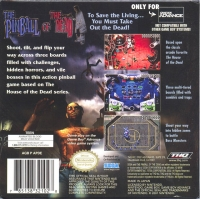 Pinball of the Dead, The Box Art
