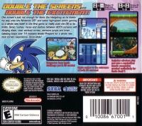Sonic Rush Box Art