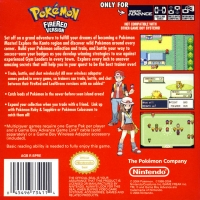 Pokémon: Fire Red Version Box Art