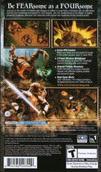 Untold Legends: Brotherhood of the Blade Box Art