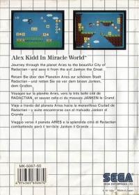 Alex Kidd in Miracle World Box Art