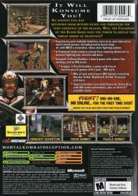 Mortal Kombat: Deception Box Art