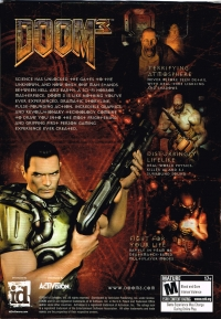 Doom 3 Box Art