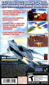 After Burner: Black Falcon Box Art