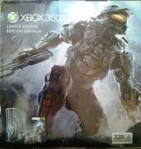 Microsoft Xbox 360 - Halo 4 Limited Edition Box Art
