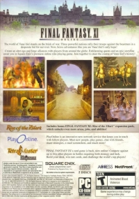 Final Fantasy XI: Online (awards) Box Art